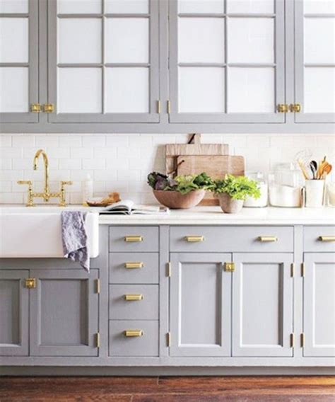light grey kitchen cabinets with gold hardware home styling antunes gray and gold cinza e dourado