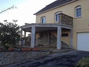 faire un beton cire sur une terrasse palzoncom With faire une terrasse en beton cire