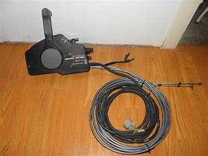 Sell Honda Outboard Side Mount Control Box W  Cables  Key