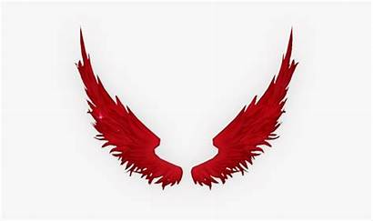 Angel Clipart Wings Wing Fallen Colored Cartoon