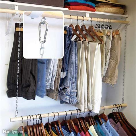 Clothes Rod For Closet 18 changing organizing ideas for to store stuff