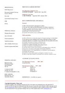 Sle Resume For Disability Support Worker by Disability Support Worker Resume Exle 48 Images