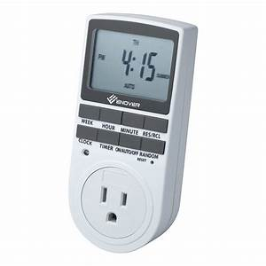 Digital Light Switch Timer Instructions