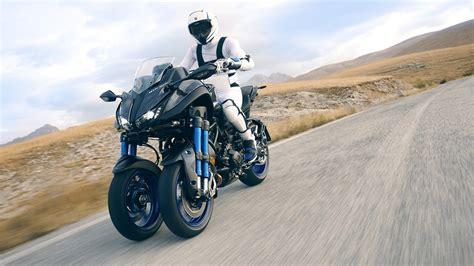 motorrad mit 3 räder yamaha niken erstes 3 r 228 driges motorrad mit neigesystem