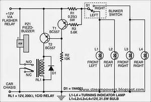 Build A Faulty Car Indicator Alarm Wiring Diagram