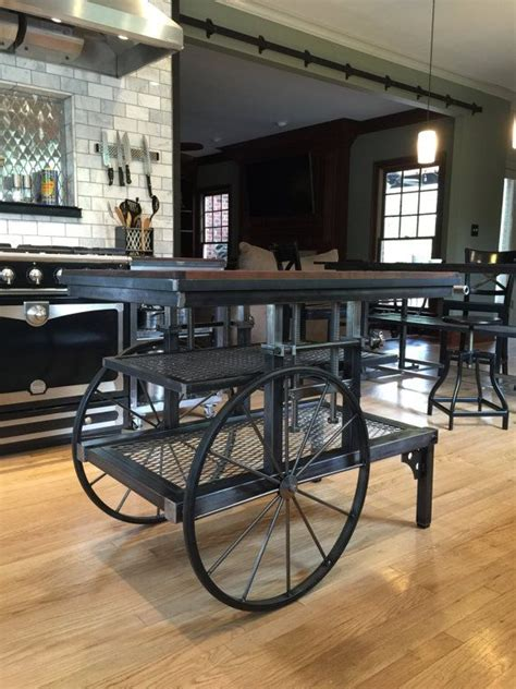 industrial style kitchen islands be careful what you throw away it could be your next
