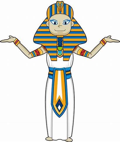 Egyptian Egypt Ancient Clipart Clip Cliparts Cleopatra