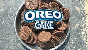 oreo biscuit cake eggless easy cake recipe using oreo