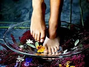 Ванночки для ног с грибком ногтей
