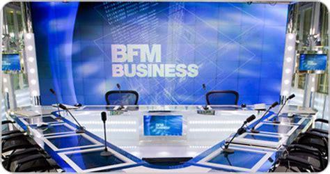 siege de bfm tv bfm business christie visual display solutions