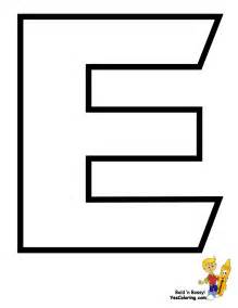 Letter E Coloring Pages