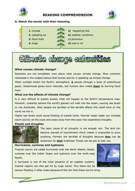 All Worksheets » Worksheets On Climate  Printable Worksheets Guide For Children And Parents