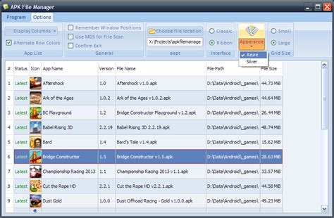 Apk File Manager For Windows 7 Reads Basic Information