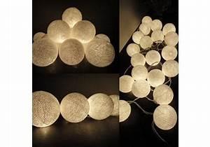 Guirlande Lumineuse Boule Exterieur : guirlande lumineuse boule acheter guirlandes lumineuses boule en ligne sur livingo ~ Dode.kayakingforconservation.com Idées de Décoration