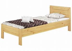 Bett Holz 90x200 : einzelbett hotelbett g stebett 90x200 kieferbett massivholz natur rollrost matratze m ~ Markanthonyermac.com Haus und Dekorationen