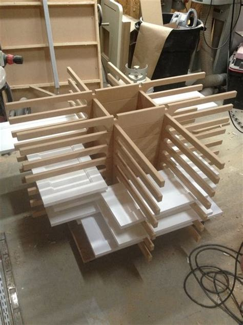 cabinet door finishing racks portable drying rack by david drummond lumberjocks com