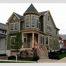 Cape Cod Home Transformed Into Victorian Style Home