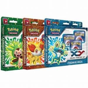 pokemon cards xy kalos all 3 deluxe starter decks brand new p441