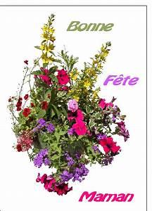 carte fte des mres avec des fleurs envoyer cette carte With affiche chambre bébé avec bouquet de fleurs envoyer