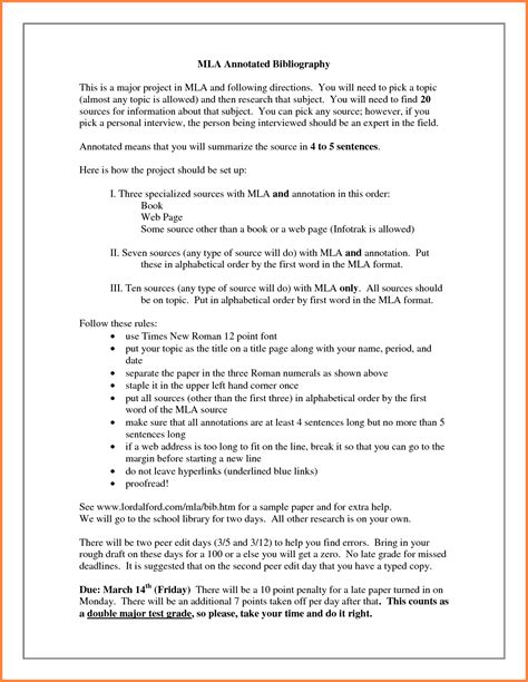Annotated Resume Definition by Get Annotated Bibliography Written Graduate Program