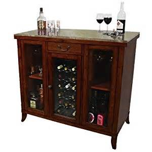 amazon com cherry wine cooler wine cabinet bar wood