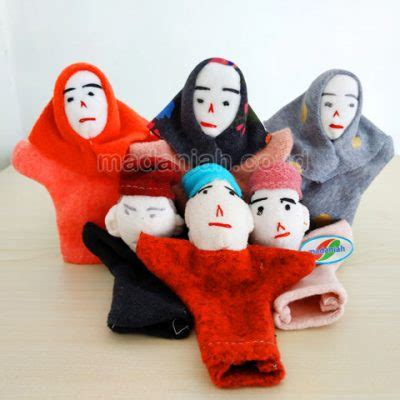Boneka Jari Keluarga boneka jari archives madaniah