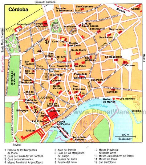 Spain Map Tourist Attractions Travelquazcom