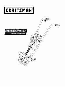 Craftsman Tiller Parts Diagram