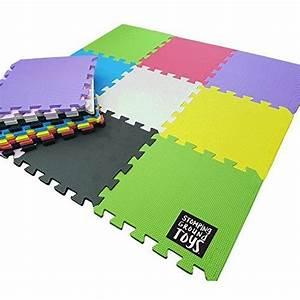 Tapis Sol Bébé : stomping ground toys 18 dalles de sol en mousse pour enfant tapis d 39 activit color es ~ Teatrodelosmanantiales.com Idées de Décoration