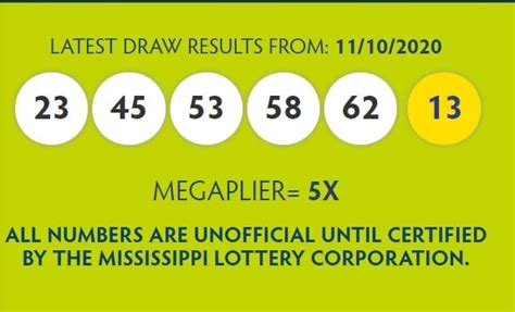 View the numbers archive for all mega millions draws from 2020. Mega Millions winning numbers for November 10th, 2020 ...