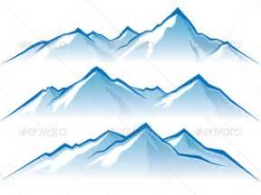 Cartoon Mountains Clip Art