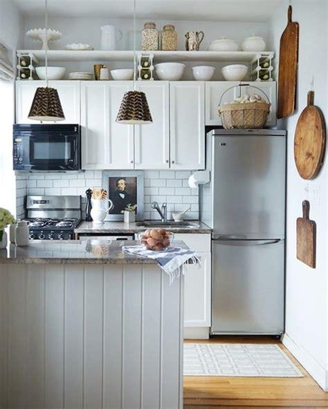 Painting Kitchen Cabinet Ideas - cocinas pequeñas modernas 2018 de 150 fotos e ideas ðecoraideas