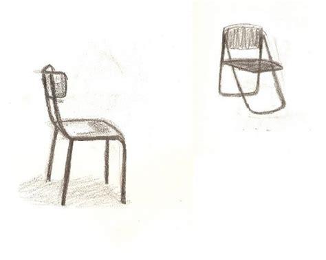 dessin d une chaise atelier volume la chaise dales marjory esaaix