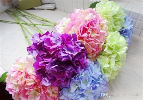 romantic wedding flower cheap artificial silk flower