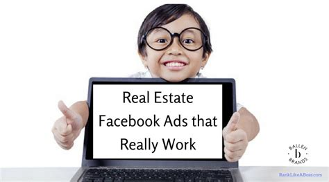 Real Estate Facebook Ads That Really Work! [video]