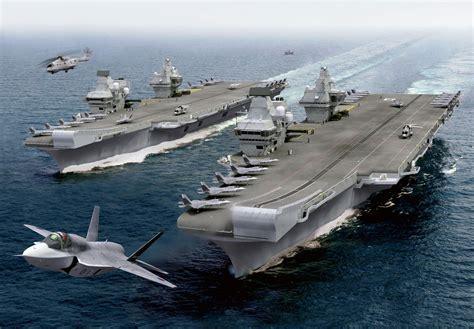 porte avion americain le plus grand porte avions les britanniques pourraient encore changer leur fusil d 233 paule mer et marine