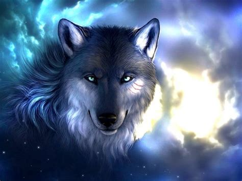Cool Animal Wallpaper Light Wolf - cool wolf backgrounds light