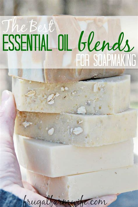 essentail oil blends recipes  soap making