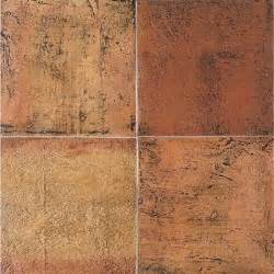 daltile saltillo sealed antique red 12 in x 12 in