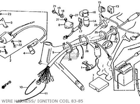 honda xl100s 1983 usa parts list partsmanual partsfiche