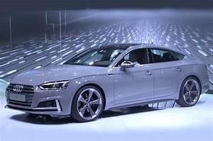 2017 Audi A5 Sportback And S5 Sportback Shown At Paris