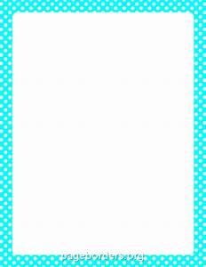 Polka Dots Border Clip Art (61+)