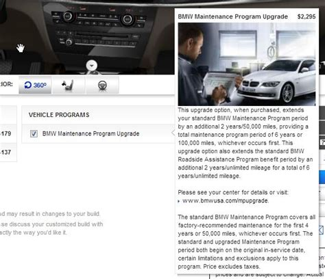 What Does Bmw Maintenance Program Cover