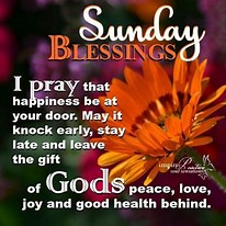 Image result for sunday blessings