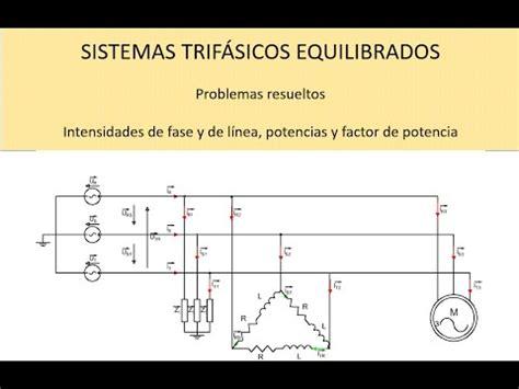 problema resuelto sistema trif 225 sico equilibrado con receptor estrella tri 225 ngulo y motor