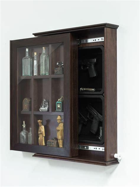 hidden gun ideas  pinterest hidden gun cabinets hidden gun storage  secret gun