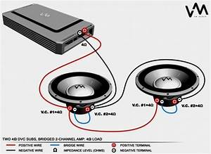 Kicker Dvc Wiring Diagram Unique Quad 1 Ohm Dual Voice