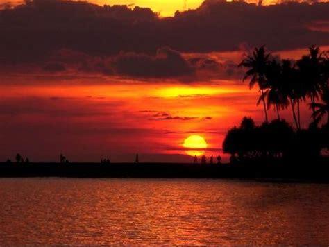 west lombok   sun   set visit indonesia