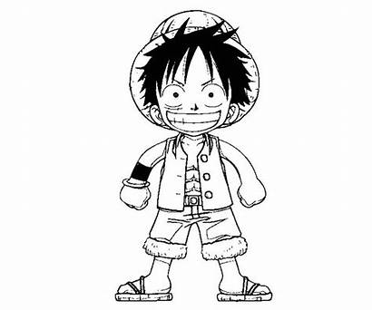 Luffy Monkey Coloring Pages Printable