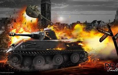 Tanks Wot Wargaming Explosion Himmelsdorf Tank Fire